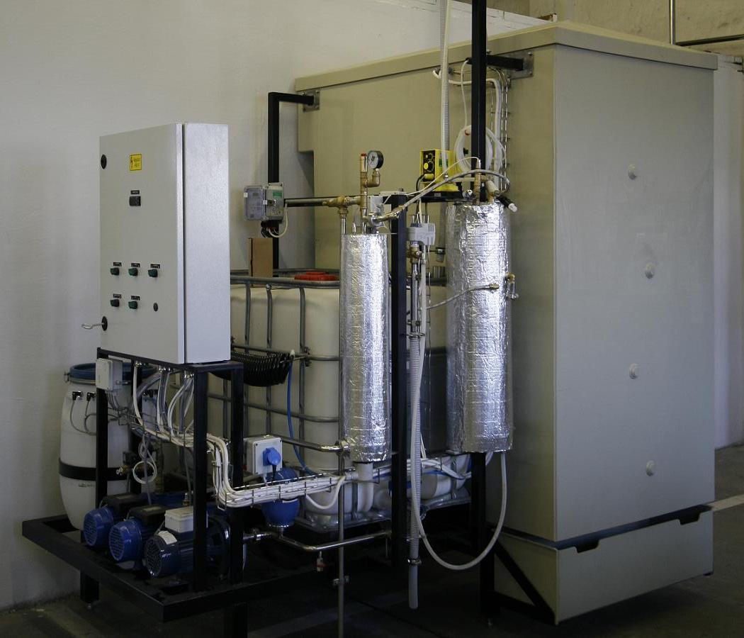 Очистное оборудование применяется для очистки и нейтрализации промышленных сточных вод предприятий пищевой...