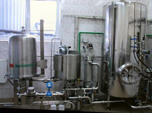 Equipments Brewery Agrometal Mini Brewery