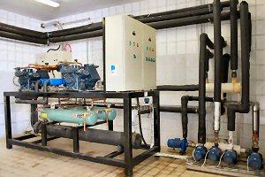 Оборудование по производству холодной энергии